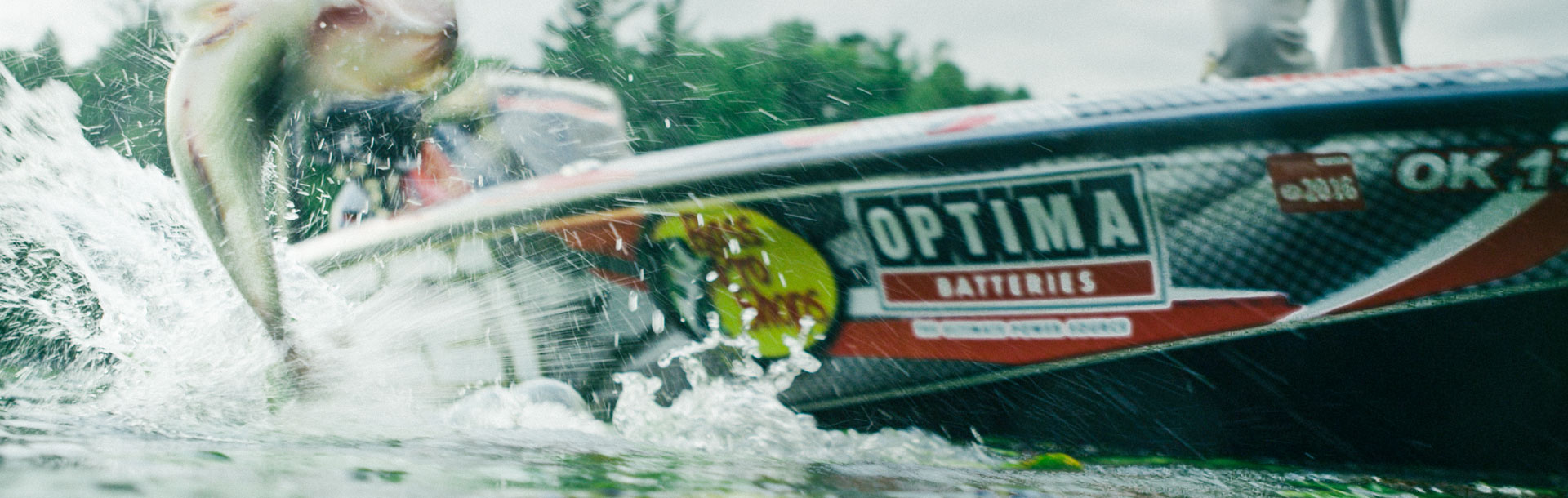 Fishing boat sponsored by OPTIMA Batteries